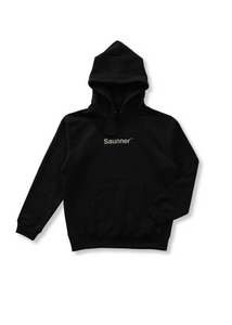 Saunner ™ Logo Hooded Sweatshirt - Black