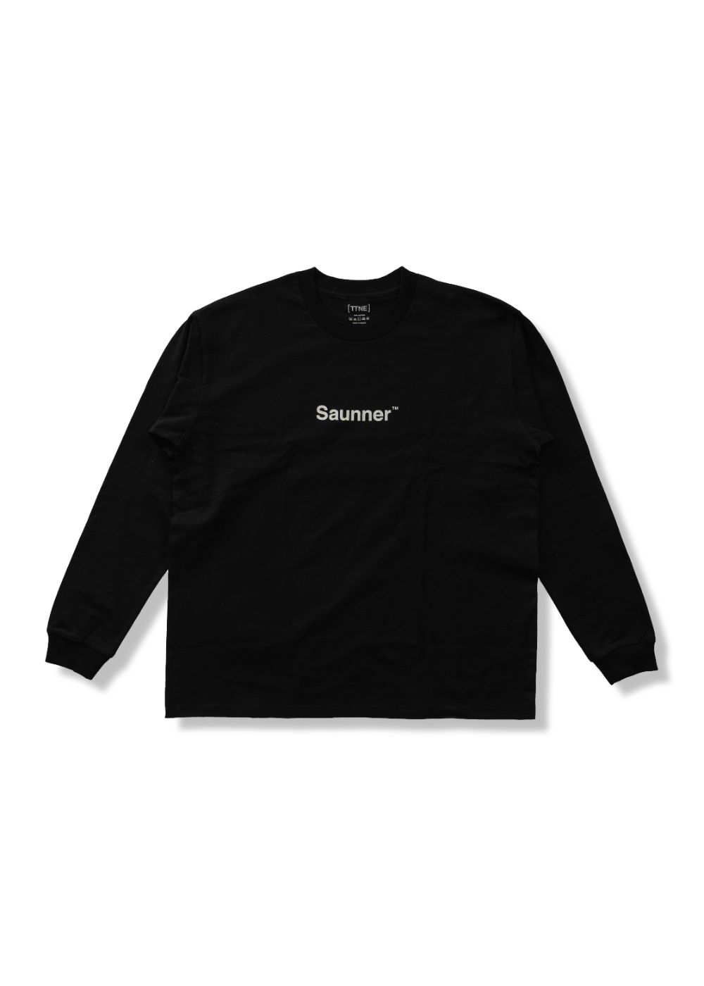 Saunner ™ Logo Long Sleeve Tee - Black