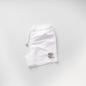 "TTNE Sauna Pants""Repeat"" - White"