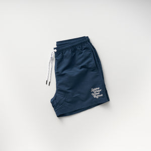 "TTNE Sauna Pants""Repeat"" -  Peacock blue"