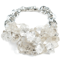 Load image into Gallery viewer, Herkimer Diamond Island Dreamscape Bracelet