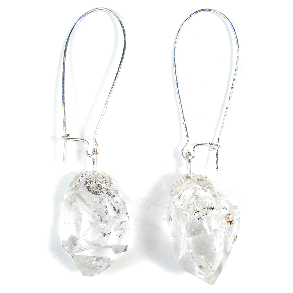 Herkimer Diamond Island Dreamscape Earrings