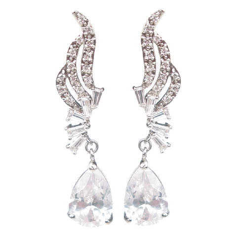 Evening Escapade Drop Diamontage™ 9.68 Carat Earrings