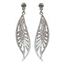 Load image into Gallery viewer, Sultry Nouveau Leaf Earrings