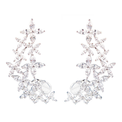 Marquise 'Once Upon A Dream' Diamontage™ 17.6 Carat Ear Cuffs