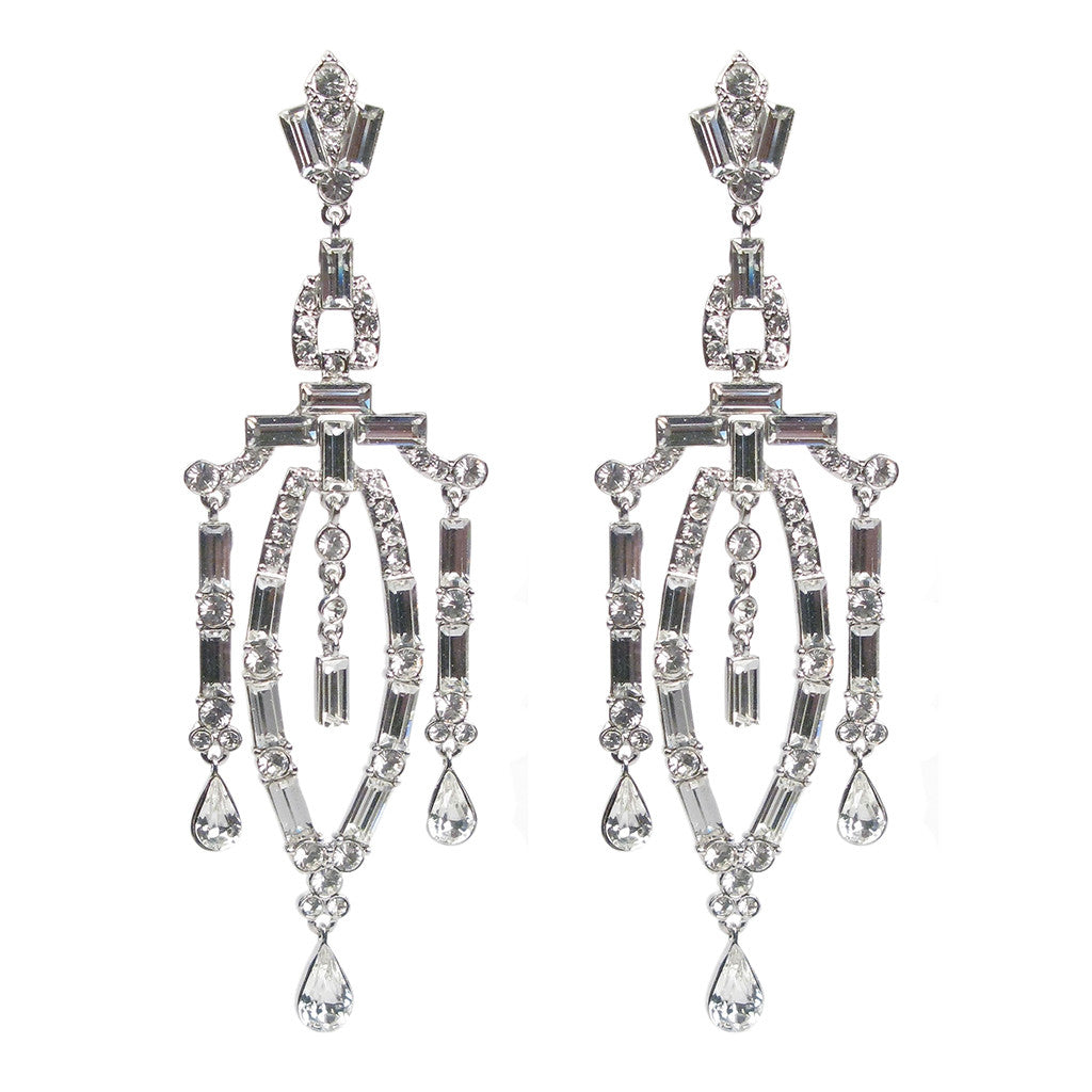 Margaret Rowe Deco Sculptura Earrings