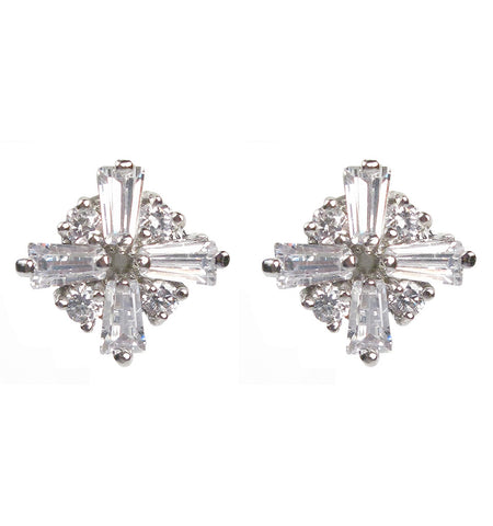 Baguette Cross Diamontage™ 2.6 Carat Earrings