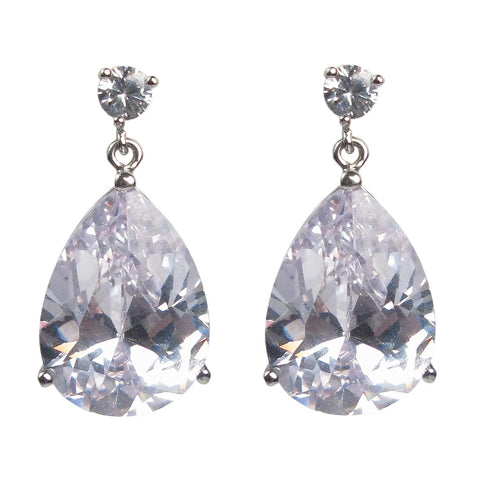 Traditional Teardrop Diamontage™ 12.0 Carat Earrings