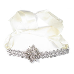 One-Of-A-Kind Classic Magnolia Headpiece