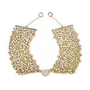 One-Of-A-Kind Shimmering Decadence Collar Necklace