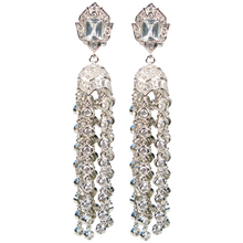 Load image into Gallery viewer, Timeless Treasure Tassel Diamontage™ 12.8 Carat Earrings