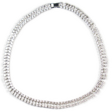 Load image into Gallery viewer, Dangling Drop Masterpiece Diamontage™ 26.60 Carat Necklace