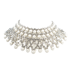 Pearl Celebration Collar Necklace