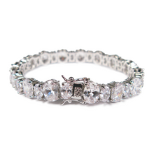 Load image into Gallery viewer, Margaret Rowe Radiant Luxury Diamontage™ 12.6 Carat Bracelet