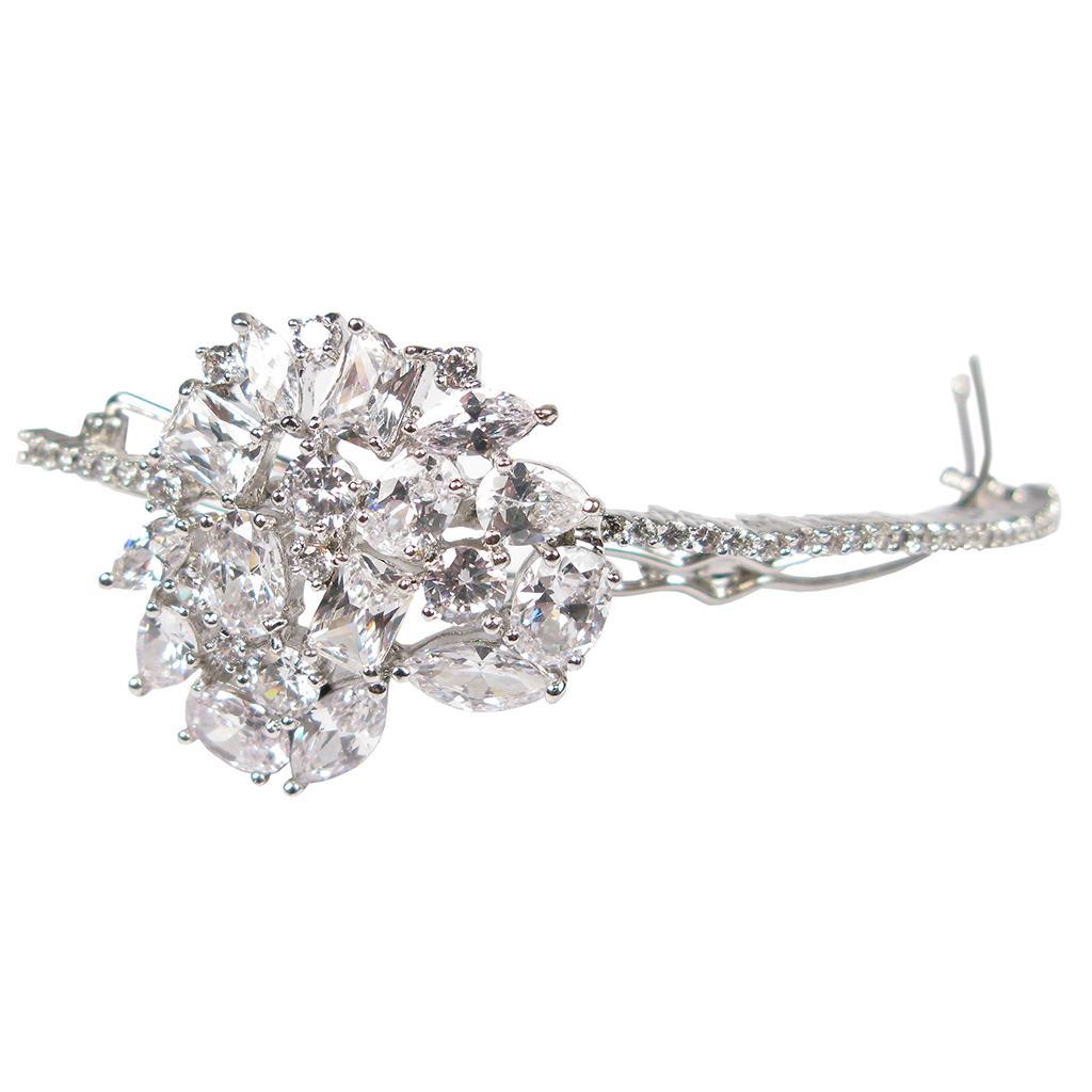 Diamontage™ Gem Constellation 16.4 Carat Barrette