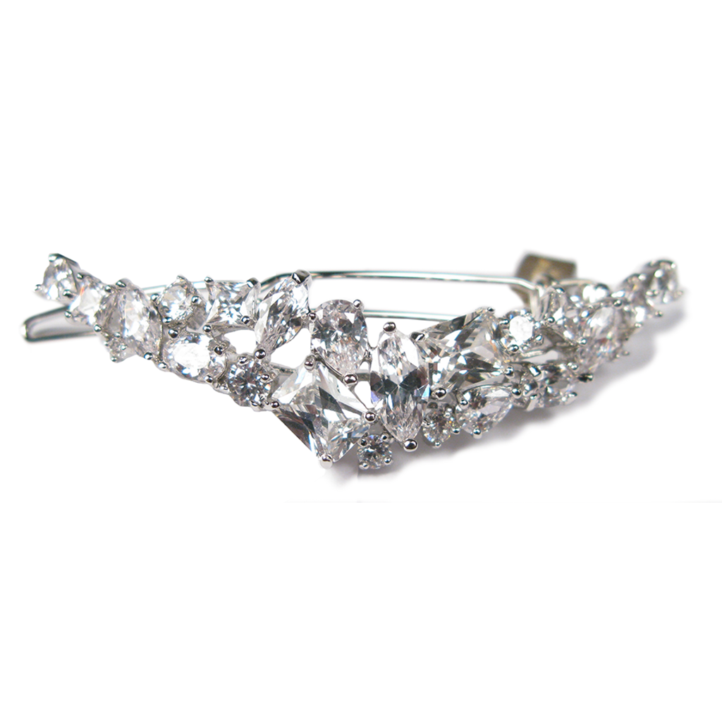 Faceted Oval Celebration Diamontage™ 14.8 Carat Barrette