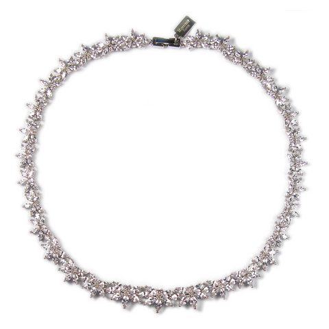 Marquise Leaf Diamontage™ 19.2 Carat Necklace