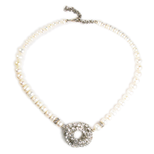 Load image into Gallery viewer, Luminous Pearl Pendant Necklace