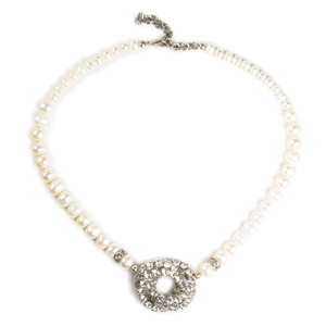 Luminous Pearl Pendant Necklace