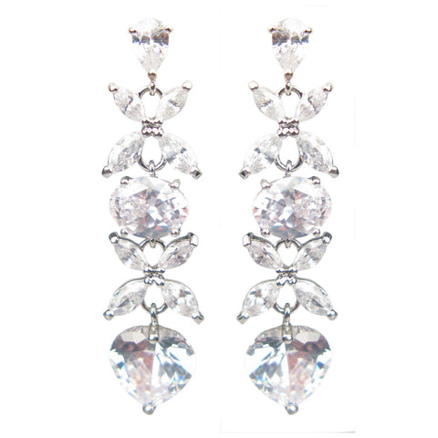 'All Of My Heart' Diamontage™ 12.64 Carat Earrings