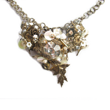 Load image into Gallery viewer, One-Of-A-Kind Estate Haskell Cluster Necklace