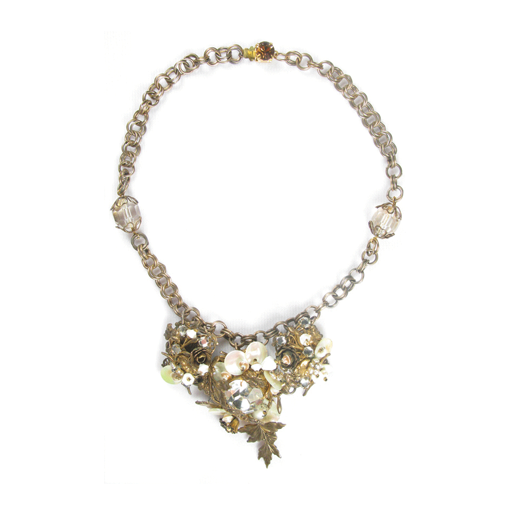 One-Of-A-Kind Estate Haskell Cluster Necklace