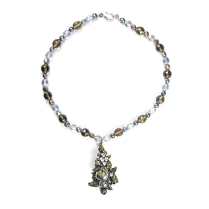 One-Of-A-Kind Estate Haskell Baroque Pearl Drop Necklace