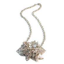 Load image into Gallery viewer, One-Of-A-Kind Nouveau Corsage Chain Necklace