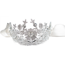 Load image into Gallery viewer, Enchanted Flora Heirloom Tiara Crown