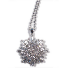 Load image into Gallery viewer, Baguette Skycrystal Diamontage™ 3.6 Carat Necklace