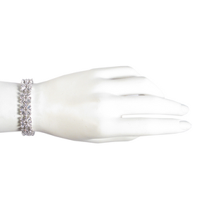 Your Paths Will Cross Diamontage™ 8.45 Carat Baguette Meghan Bracelet