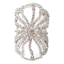 Load image into Gallery viewer, Deco Filigree Cuff Bracelet