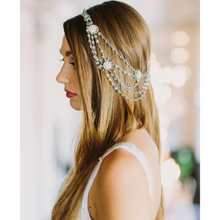 Load image into Gallery viewer, A One-Of-A-Kind Majestic Boho Heirloom Headpiece