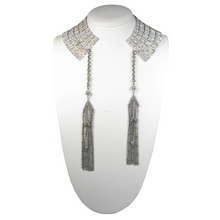 Load image into Gallery viewer, Art Deco Cleopatra Tassel Collar Necklace