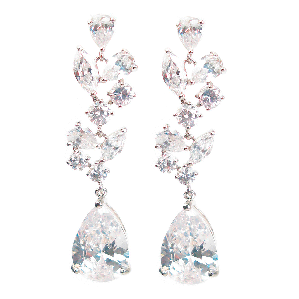 Cascading Nouveau Drop Diamontage™ 30.36 Carat Earrings