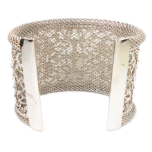Load image into Gallery viewer, Ornate Endearment Cuff Bracelet