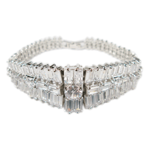 Load image into Gallery viewer, Baguette Romance Eternity Diamontage™ 23.683 Carat Bracelet