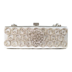 One-Of-A-Kind Couture Le Cirque Deco Clutch
