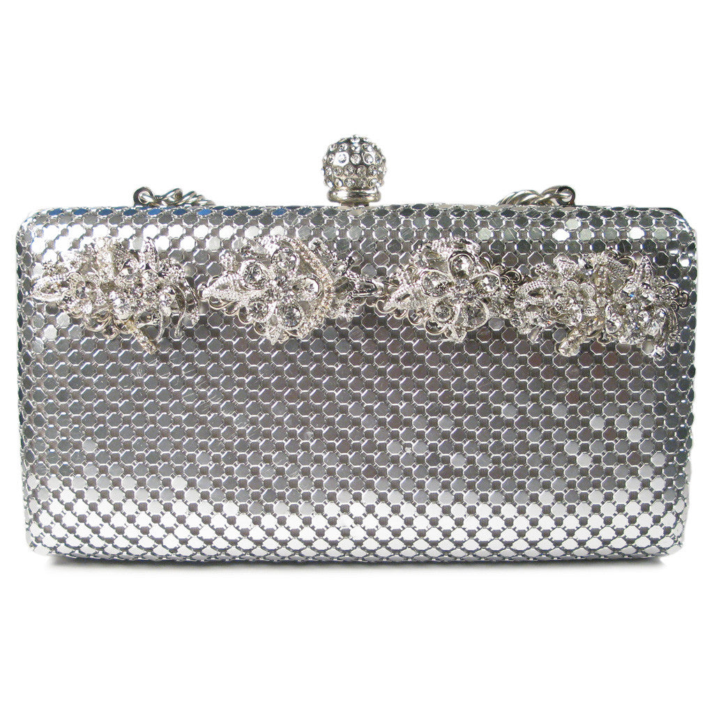 One-Of-A-Kind Couture ChainMail Bouquet Clutch