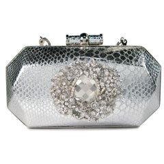 One-Of-A-Kind Couture Encrusted Amulet Clutch