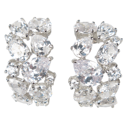 Precious Pair Diamontage™ 11.4 Carat Earrings