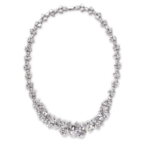 Teardrop Celebration Diamontage™ 73.5 Carat Necklace