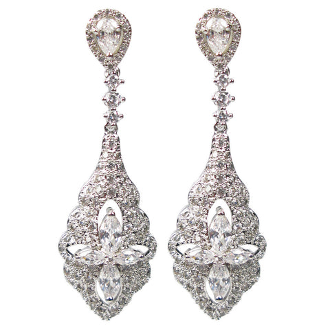 Regal Romance Pendulum Diamontage™ 3.13 Carat Earrings