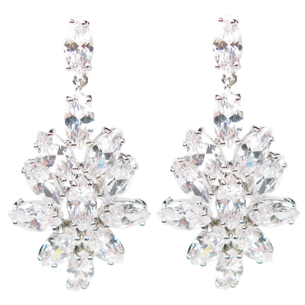 Marquise Romance Eternity Diamontage™ 22.8 Carat Earrings