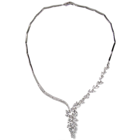 Marquise Waterfall Diamontage™ 9.36 Carat Necklace