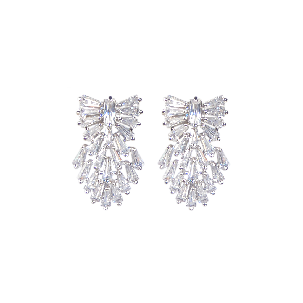 Cherished Crest Diamontage™ 2.8 Carat Earrings