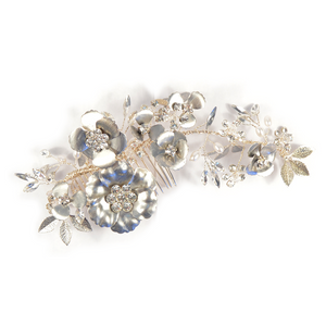 Silver Spring Bouquet Headpiece
