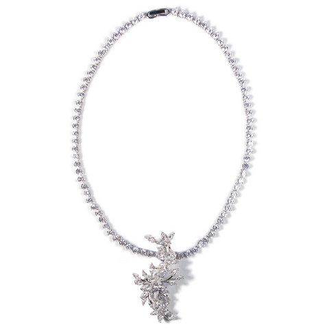 Floral Fortuna Diamontage™ 23.4 Carat Necklace