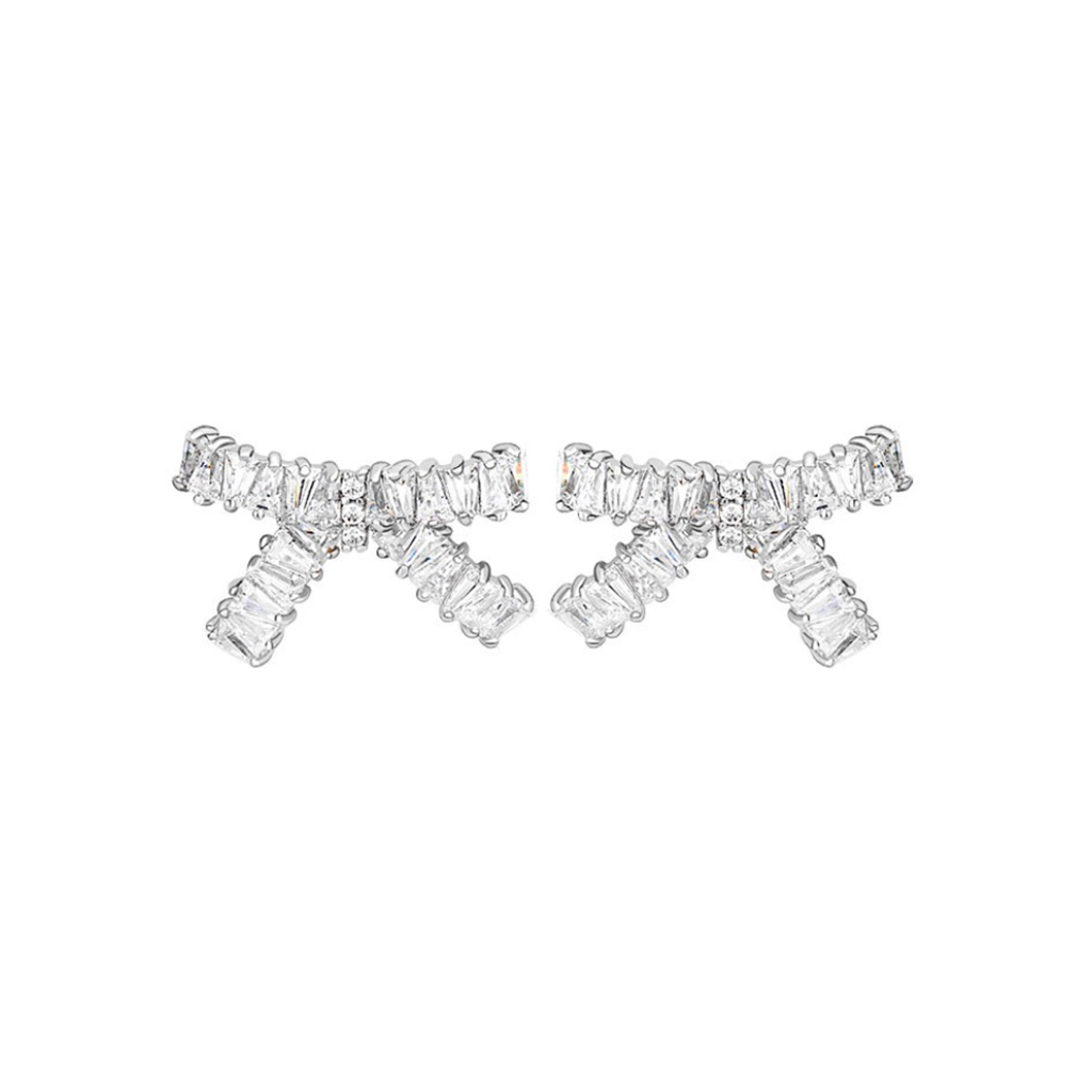 Petite Bow Diamontage™ 4.8 Carat Earrings