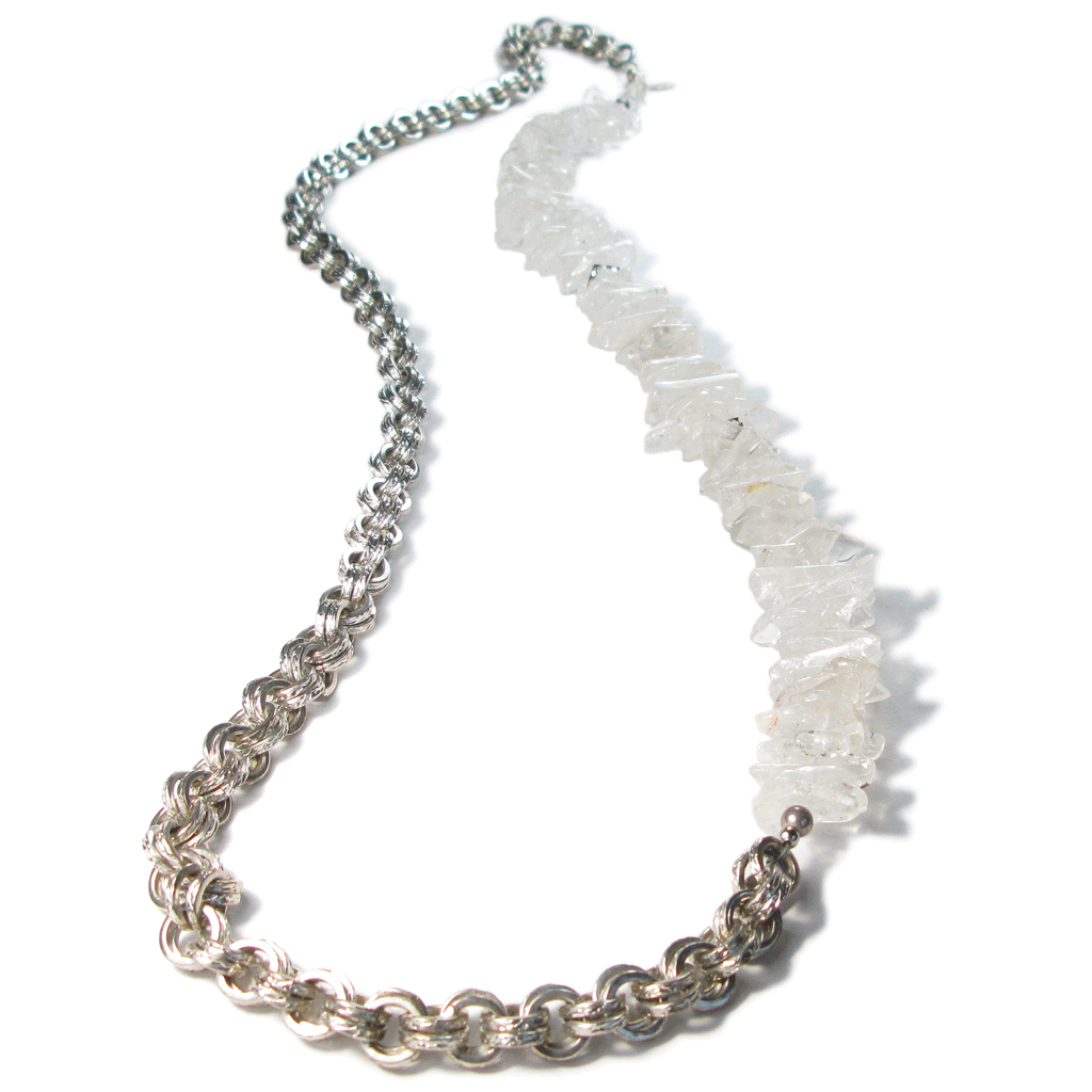 One-Of-A-Kind Avalon Rock Crystal Necklace